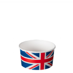 TYPE 102 155ml Ice Cream Cup - Union Jack